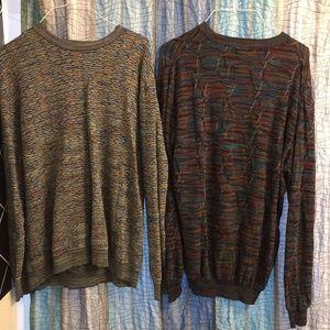 Jhane Barnes Sweaters - Two Jhane Barnes Sweaters